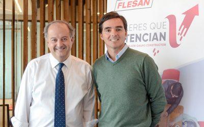 Ministro del Trabajo visita Grupo Flesan para destacar los Puntos Flesan