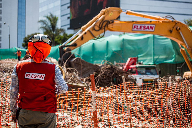 Grupo Flesan destaca por su innovación en obras de excavación para proyectos urbanos